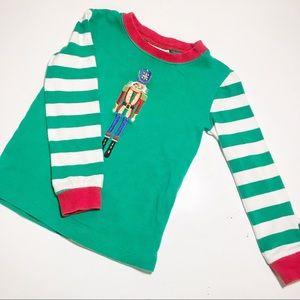 Nutcracker Candy Stripe Christmas Top Size 4T